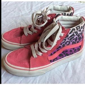 Vans girls youth 2 high top